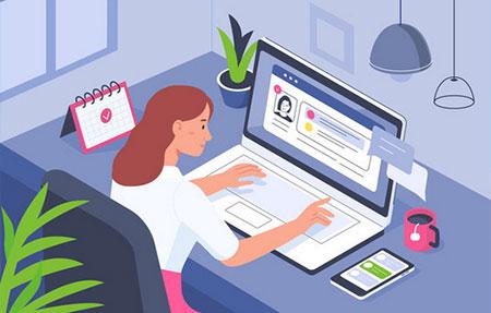 Home Office - Mobiler Arbeitsplatz für Unternehmen